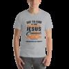 Silver Bella + Canvas 3001 Unisex Short Sleeve Jersey T-Shirt