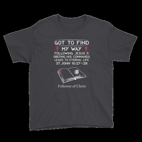 Black Anvil 990B Youth Lightweight Fashion T-Shirt