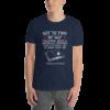 Navy Short-Sleeve Unisex T-Shirt