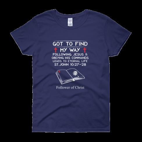 Cobalt Guildan 5000L Women's Short Sleeve T-Shirt