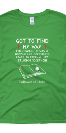 Irish-Green Guildan 5000L Women's Short Sleeve T-Shirt