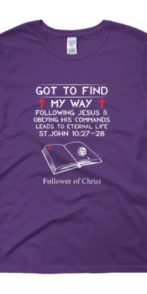 Purple Guildan 5000L Women's Short Sleeve T-Shirt